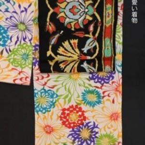 十三詣りの女の子の着物をコーディネート・店のアイドルとなっている「孫の未來」に感謝