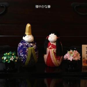 古布の木目込み雛人形「ひまり雛」・12月10日頃に木目込み雛人形を発表します