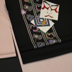 粋な着こなし「江戸小紋に黒地で歌舞伎柄の染帯を合わせる」・そしてヒルクライムのCDの話し