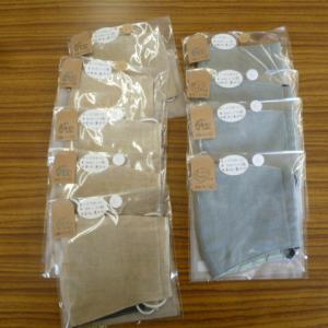 手作り布マスク立体タイプM、L入荷