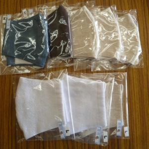 手作り布マスク立体タイプ夏用M、L入荷