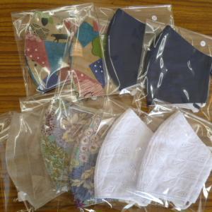 手作り布マスク立体タイプM、L