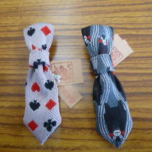 畳縁ネクタイ型ブローチ、リボン髪ゴム