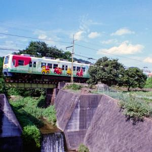 夏休みの上信電鉄