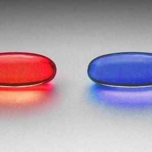 赤と青の世界
