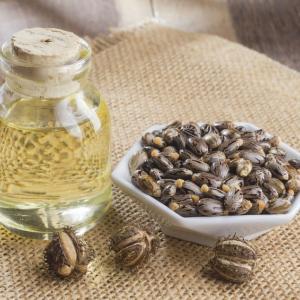 ひまし油 と 亜麻仁油 慢性疾患の鎮静。