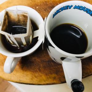 朝風呂からあがりコーヒータイム  2019.12.11