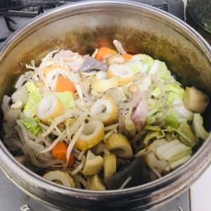 圧力鍋で筑前煮を作っています。  2019.12.13