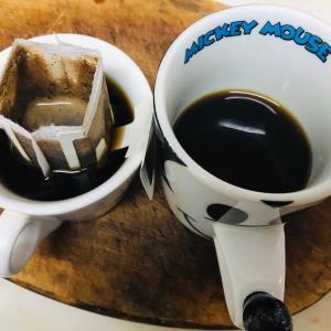 朝風呂からあがりコーヒータイム  2019.12.14