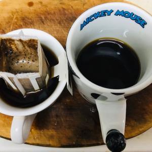 朝食後のコーヒータイム  2019.12.15