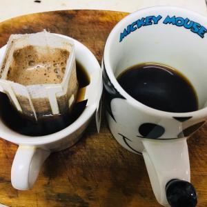 朝食後のコーヒータイム   2020.01.25