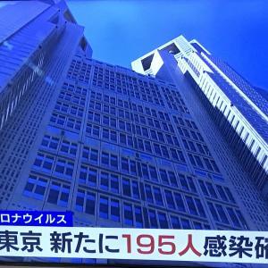 東京都新たに195人感染確認。 2020.09.24
