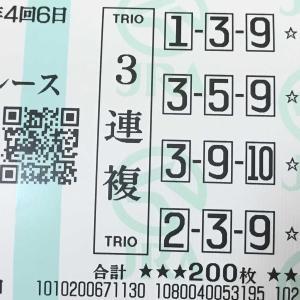 京都7Rの3連複馬券が当たりました。   2020.10.25