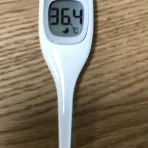 昼の体温は、36.4℃でした。  2020.11.25