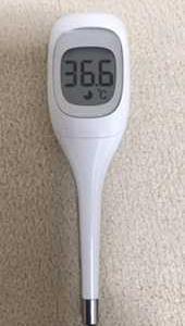 昼の体温は36.6℃でした。2021.09.27