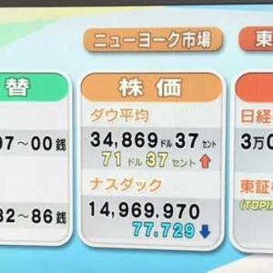 為替レートは、円安の110.97円でした。2021.09.28