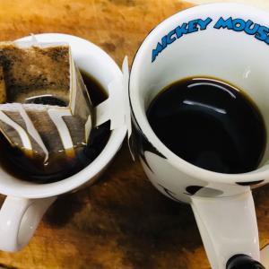 朝風呂からあがりコーヒータイム  2019.08.18