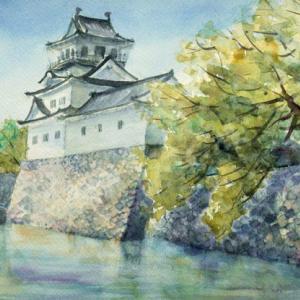初夏の富山城