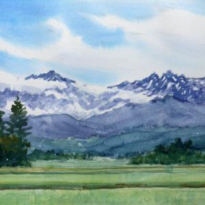 のどかな初夏の立山