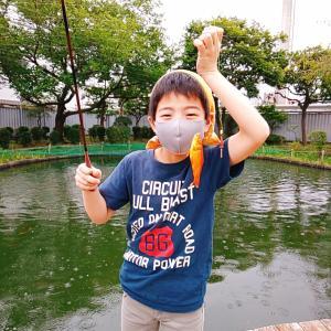 最後の最後、父の執念? 浮間釣り堀公園での死闘。