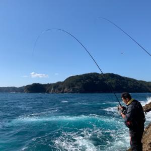 伊豆半島の反対側へ、連チャン釣行!