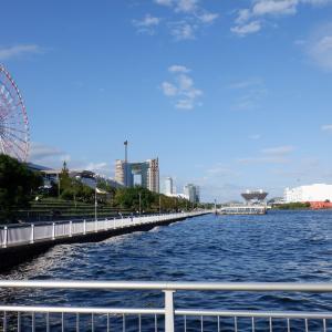 京浜運河から河岸を替えてチヌ狙い