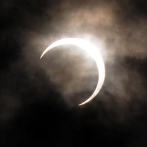 金環日食 うぅぅ