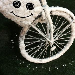 雪ふりました。