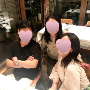 シマラボ~3きょうだいで誕生日ディナー☆