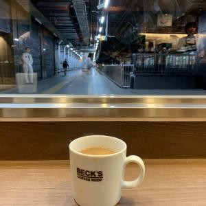ベックスコーヒーショップ上野中央口店(2057店目)
