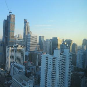 ソフィテルバンコクで朝食 1 in タイ♪