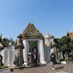 ワットポーの涅槃仏像 in タイ♪