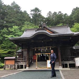 願いをつなげてくださるような感覚。義経神社にて  美容鍼灸 横浜 ブレア元町