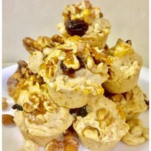 Autumn macrobiotic muffin♡