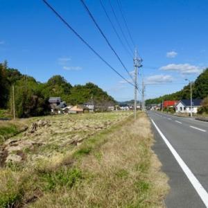 『田舎道のツーリング』『可児やすらぎの森は閑散』『友人宅でご馳走になる』Gifu,Japan