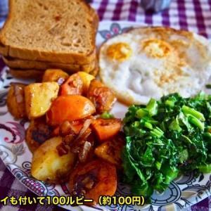『旅の各国・各町の「食レポ」シリーズ第26回目;ネパールB級グルメ』『良く通っていた飯屋の料理』『安い朝飯;ベジバーガー;エッグカレー』『昼飯でよく食ったサンドイッチと甘いチャイ』『揚げ物が多い』『怪しげな雰囲気なカレー屋』『Moong Dalが旨い』*記事書きはBanff,Canada