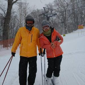 スキーに行ってきました