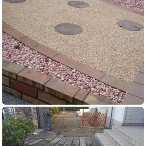 お庭の改修工事をさせていただきました(^-^)/