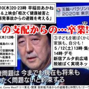 [トータルな長文]<3.11経験の喪失>を越えて―東京、大阪の連続行動へ!