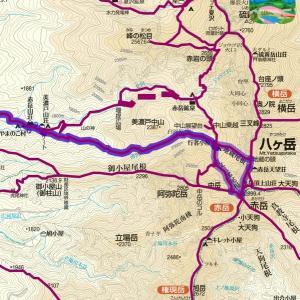 山旅のプランニング