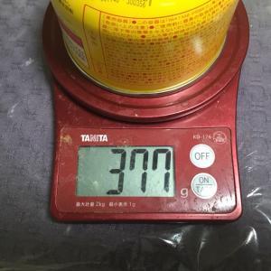 バーナーのガス缶の残量について(考察)