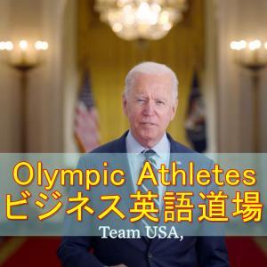 Olympic Athletes オリンピックを終えた選手と家族をたたえるメッセージ