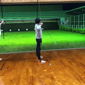 弓道の練習