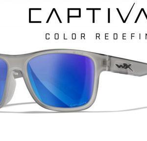 WileyX(ワイリーX)WX OVATION CAPTIVATE™ Blue Mirror