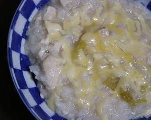 12月4日  水晶鶏の リメイクチーズリゾット