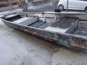 アルミボートのデッキ製作しました!!