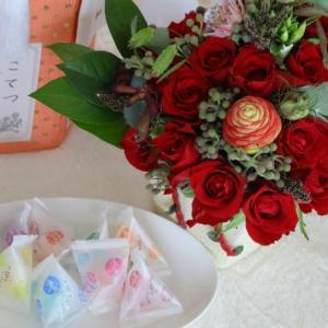綺麗なバラです・・・