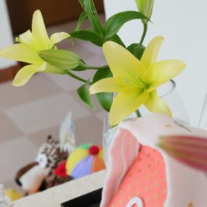 ユリの花・・・