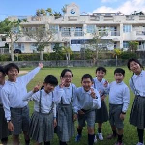 沖縄三育小学校との交流会
