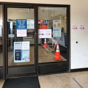 郵便局に行きました